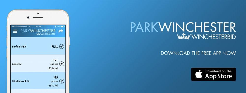 Park Winchester iOS App